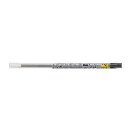 三菱鉛筆 スタイルフィット リフィル ゲルインク 0.38mm ブラック