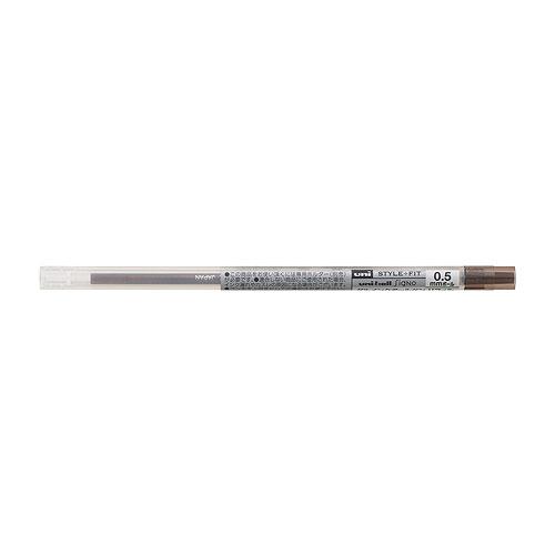 三菱鉛筆 スタイルフィット ゲルインクボールペン UMR-109 リフィル 0.5mm ブラウンブラック│ボールペン ボールペン替芯