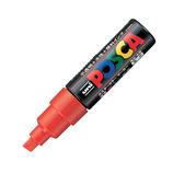 三菱鉛筆 ユニ ポスカ 水性太字 PC-8K 赤