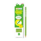 三菱鉛筆 グリッパーえんぴつ K6903B B 緑