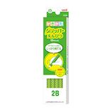 三菱鉛筆 グリッパーえんぴつ K69032B 2B 緑