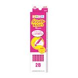 三菱鉛筆 グリッパーえんぴつ K69052B 2B ピンク