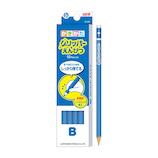 三菱鉛筆 グリッパーえんぴつ K6904B B 青