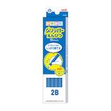 三菱鉛筆 グリッパーえんぴつ K69042B 2B 青