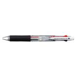 三菱鉛筆 ジェットストリーム 4色ボールペン SXE4-500-07 0.7mm 透明