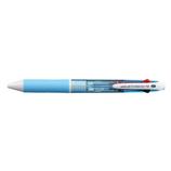 三菱鉛筆 ジェットストリーム 4色ボールペン SXE4-500-07 0.7mm 水色