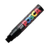 三菱鉛筆 ユニ ポスカ 水性極太 PC—17K 黒