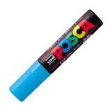 三菱鉛筆 ユニ ポスカ 水性極太 PC-17K 水色