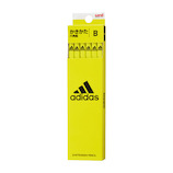 三菱鉛筆 アディダス 紙ダース箱かきかた鉛筆 B K5607B 黄黒│鉛筆・鉛筆削り 鉛筆