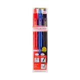 三菱鉛筆 ユニボール R:E 0.38mm URN-180-38 3C 3色アソート│ボールペン 消せるボールペン