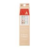 三菱鉛筆 hahatoco 紙ダース箱 かきかた鉛筆 リス&家 K5610 12本入 B