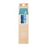 三菱鉛筆 hahatoco 紙ダース箱 かきかた鉛筆 宇宙&海 K5611 12本入 B