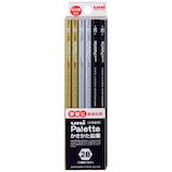 三菱鉛筆 ダース箱鉛筆 6角 PLT 2B K56172B ブラック