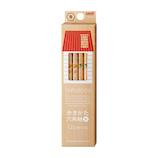 三菱鉛筆 hahatoco ダース箱鉛筆 B K5621B リス&家│鉛筆・鉛筆削り 鉛筆