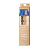 三菱鉛筆 hahatoco ダース箱鉛筆 B K5622B 宇宙&海│鉛筆・鉛筆削り 鉛筆
