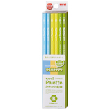 三菱鉛筆 ユニパレット ダース箱鉛筆 6角 PLT B K5631B ひらめきサプリ│鉛筆・鉛筆削り 鉛筆