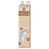 三菱鉛筆 ハハトコ(hahatoco) ダース箱鉛筆 B K5634B イルカ&カモメ│鉛筆・鉛筆削り 鉛筆