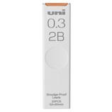 三菱鉛筆 シャープ替芯 ユニ ULS03252B 0.3mm/2B│シャープペンシル シャープペンシル替芯