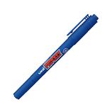 三菱鉛筆 プロッキー 極細+細字丸芯 PM-120T 青│マーカー・サインペン サインペン・水性マーカー