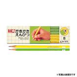 三菱 かきかた鉛筆3角 B K4563B