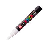 三菱鉛筆 ユニ ポスカ 水性極細 PC-1M 白