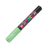 三菱鉛筆 ユニ ポスカ 水性極細 PC-1M 黄緑