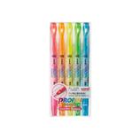 三菱鉛筆 プロパスウィンドウ 5色セット│マーカー・サインペン 蛍光ペン