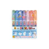 三菱鉛筆 ポスカ ラメ入り極細 7色セット PC-1ML│マーカー・サインペン サインペン・水性マーカー