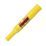 三菱鉛筆 プロッキー 太字角芯/細字丸芯 PM150TR 黄