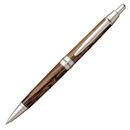 三菱鉛筆 ピュアモルト ボールペン SS-1025 ダークブラウン
