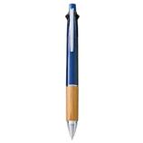 三菱鉛筆×東急ハンズ グリーンブランチプロジェクト ジェットストリーム4&1 0.5mm ネイビー│ボールペン 多機能ペン