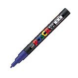 三菱鉛筆 ユニ ポスカ 水性細字 PC-3M 青