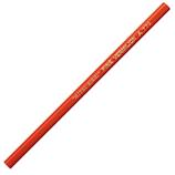 三菱鉛筆 朱通し6角鉛筆 770 朱
