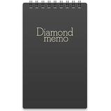 ミドリ(MIDORI) ダイヤメモ L 黒 19003011