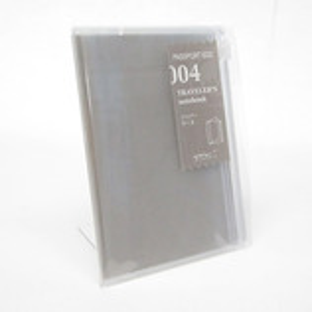 ミドリ トラベラーズノート パスポートサイズ用リフィル ジッパー 14316006