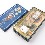 トラベラーズノート ミニ 10周年缶セット キャメル