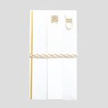 ミドリ 金封結婚祝 白い糸 編み 25211006