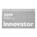 【2019年版・壁掛】 ミドリ イノベーター カレンダー 壁掛 3ヶ月 30599006