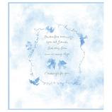 ミドリ カラー色紙 二つ折り 33139006 青い鳥