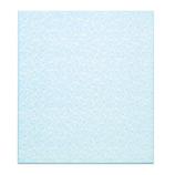 ミドリ カラー色紙 二つ折り 花ブルー