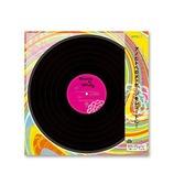 ミドリ カラー色紙 LPレコード柄 33173006
