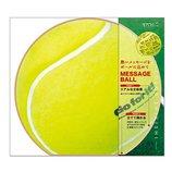 ミドリ カラー色紙 丸形 テニスボール柄