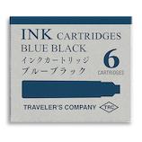 ミドリ(MIDORI) トラベラーズカンパニー 万年筆用カートリッジ 38073006 ブルーブラック