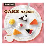 ミドリ ミニマグネット 49868006 ケーキ柄A 6個入