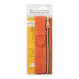 ミドリ ブックバンドペンケース B6~A5用 62323006 オレンジ