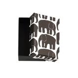 マルアイ FINLAYSON BOX S エレファンティ BX−FL201D ブラック