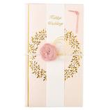 マルアイ hanaemi リース金封 ピンク│のし・色紙 のし袋