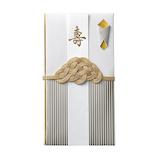マルアイ WASOU(和装)金封 キ18W 白紋