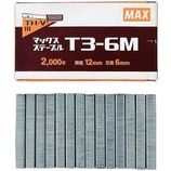 マックス ステープル T3-6M│打ち付け・締め付け道具 タッカー・リベッター