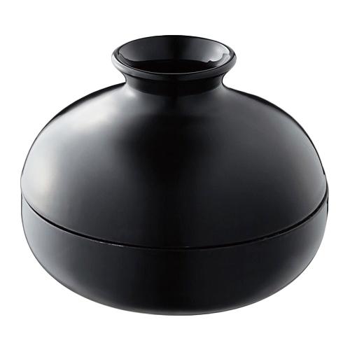 蚊取りポット ブラック